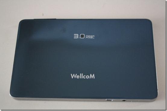 Wellcom A800 ด้านหลัง