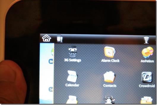 มี Settings สำหรับ 3G ด้วย แต่โมเดลนี้ไม่รองรับ 3G นะจ๊ะ