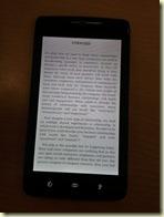 อ่าน Kindle บน Dell Streak ไม่มีปัญหาอะไร