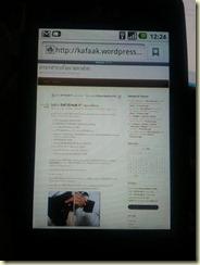 ฟอนต์ไทยของ LG Optimus One ไม่เหมาะกับการอ่านจริงๆ