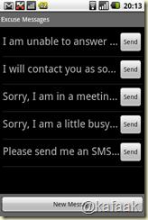 กรณีที่ไม่สะดวกรับสาย ก็สามารถเลือกไม่รับ พร้อมส่ง SMS