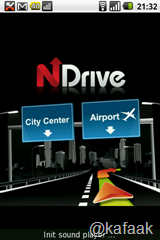Splash screen ของ NDrive