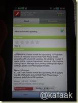 ดาวน์โหลด Adobe Flash Player 10.1 ได้จาก Android Market