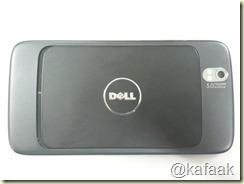Dell Streak ด้านหลัง