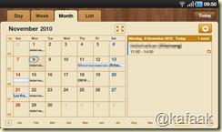 โปรแกรม Calendar