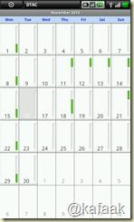Calendar บน Streak