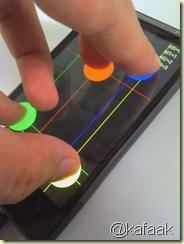 ทดสอบด้วยโปรแกรม Multitouch Visible Test