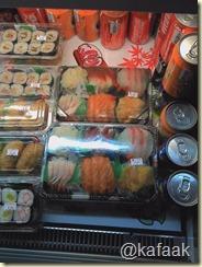 ตัวอย่างอาหารที่ขายในห้าง SOGO