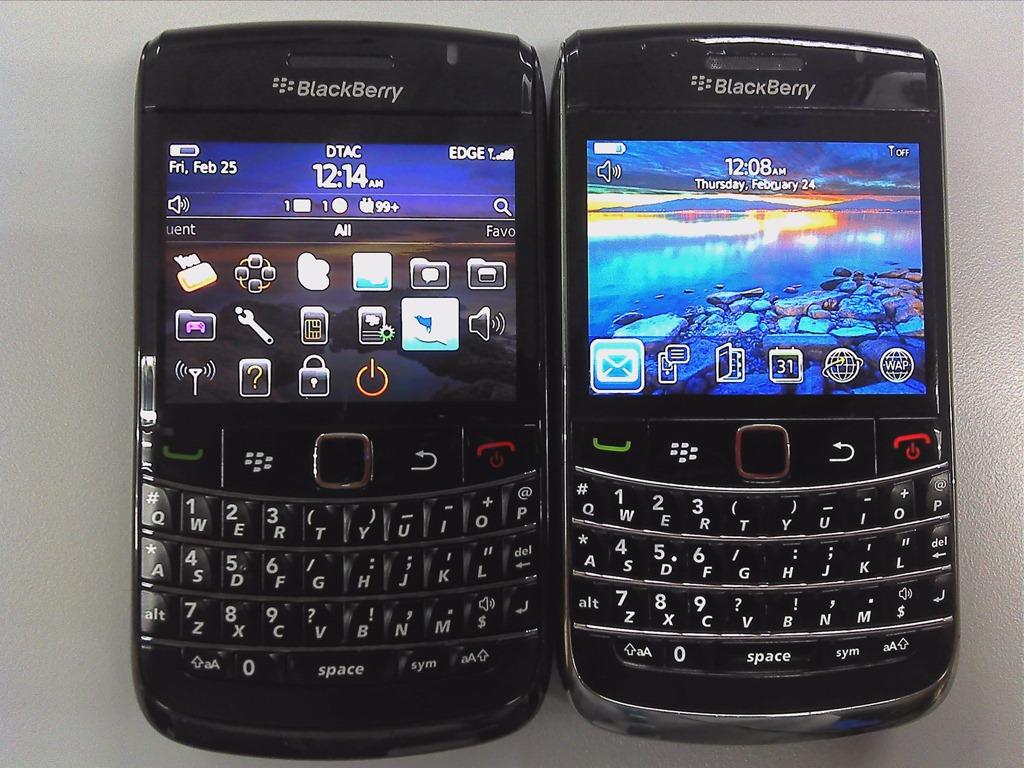 รีวิว BlackBerry Bold 9780 … ตอน เทียบ 9780 กับ 9700 แฝดต่าง